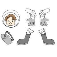 поделка космонавт 13