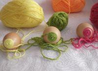 поделки из пустых яиц 3