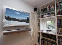 Подставка под телевизор на стену1
