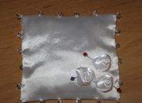 подушка для колец своими руками16
