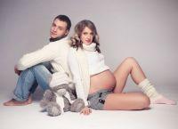Позы для фотосессии беременных 9