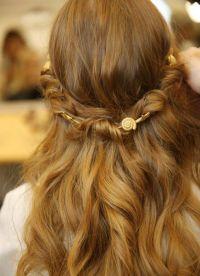 прически на длинные волосы 2015 8