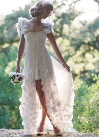 Прически под короткое платье 4