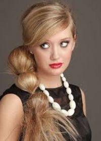 прически с резинками для волос 7