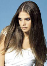 прямые волосы6