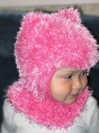 Шапка шлем для девочки12