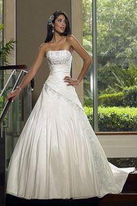 шикарные свадебные платья со шлейфом 2