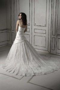 шикарные свадебные платья со шлейфом 8