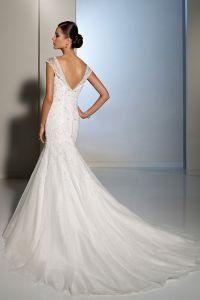шикарные свадебные платья со шлейфом 9