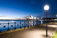 Сиднейская опера и набережная