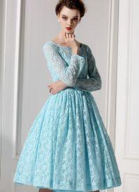 стиль 50 х годов платья 1
