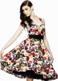 стиль 50 х годов платья 3