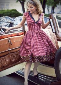 стиль 50 х годов платья 7