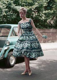стиль 50 х годов платья 8