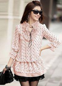 стильные блузки 2015 1