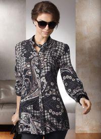 стильные блузки 2015 2