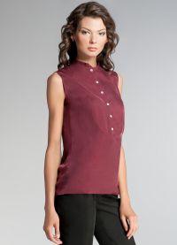 стильные блузки 2015 7