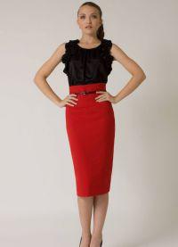 стильные юбки 2015 3