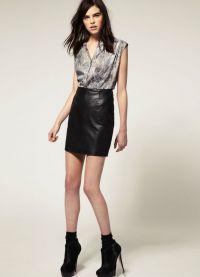 стильные юбки 2015 4