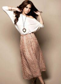 стильные юбки 2015 9
