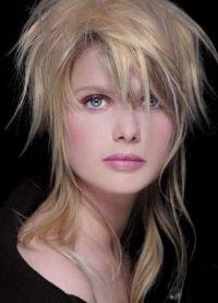 Стрижка гаврош на длинные волосы 1