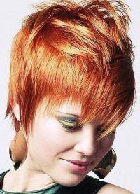 Стрижка гаврош на короткие волосы