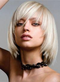 Стрижка паж на короткие волосы