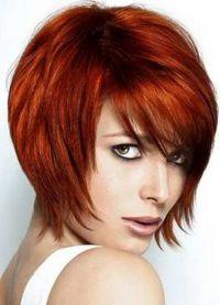 стрижка придающая объем тонким волосам 1