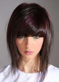 стрижка придающая объем тонким волосам 3