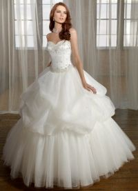 свадебное платье классика 2