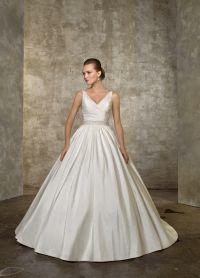 свадебное платье классика 4