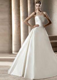 свадебное платье классика 5