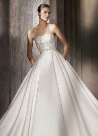 свадебное платье классика 6
