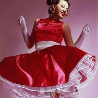 Свадебные платья в стиле стиляг 7