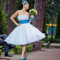Свадебные платья в стиле стиляг 8