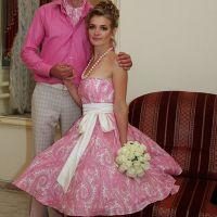 Свадебные платья в стиле стиляг 9