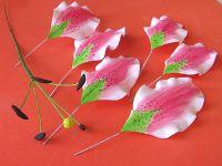 Цветы из фоамирана - мастер-класс21
