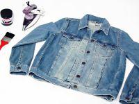 декор старой джинсовой куртки