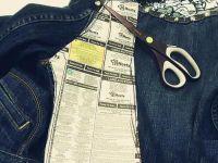 декор старой джинсовой куртки13