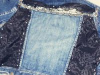 декор старой джинсовой куртки15