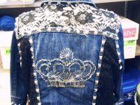 декор старой джинсовой куртки24
