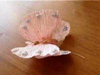 Бабочки из гофрированной бумаги23