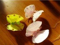 Бабочки из гофрированной бумаги25
