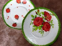 как делать папье маше тарелку 11