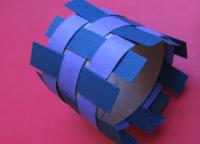 Как сделать кольцо из бумаги7