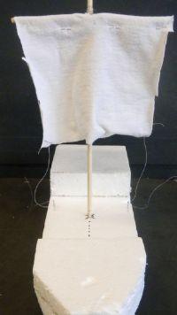 Как сделать кораблик из пенопласта29