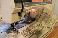 как сделать платье из газет15