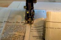 как сделать платье из газет19