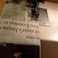 Как сделать платье из газет54