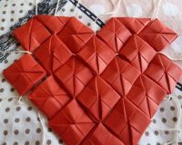 Как сделать сердце из модулей47
